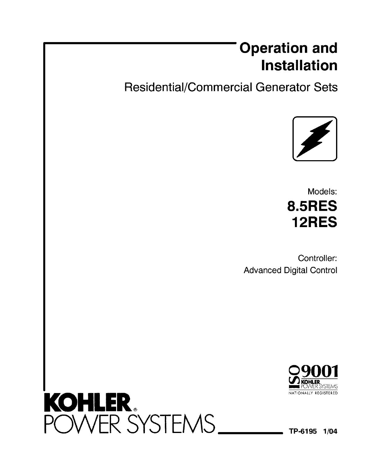 Kohler Generator Wiring Diagrams