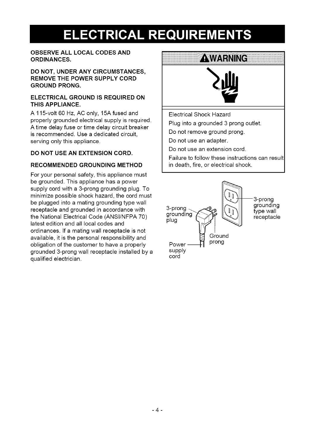 Kenmore User Manual Dehumidifier Manuals And
