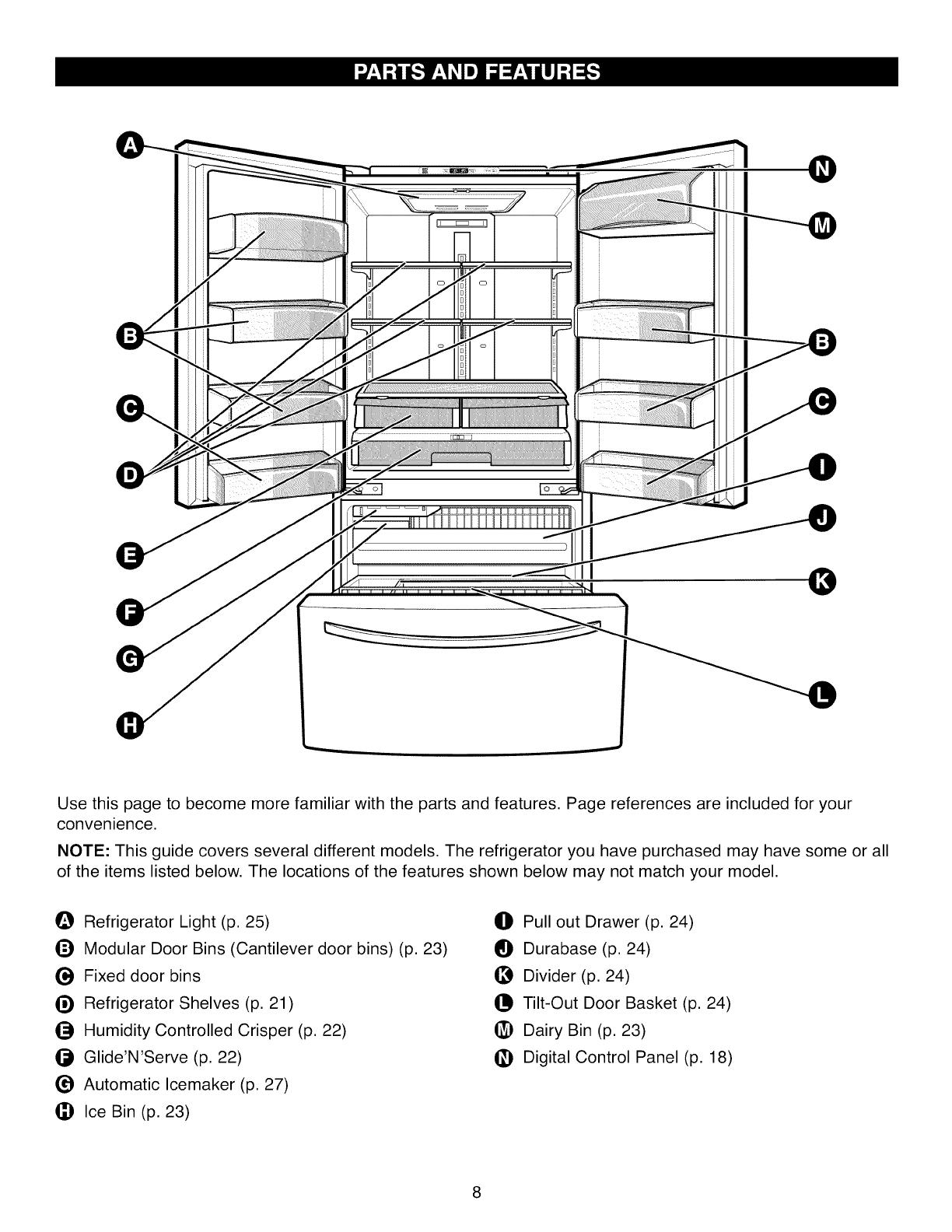 Kenmore User Manual Refrigerator Manuals And