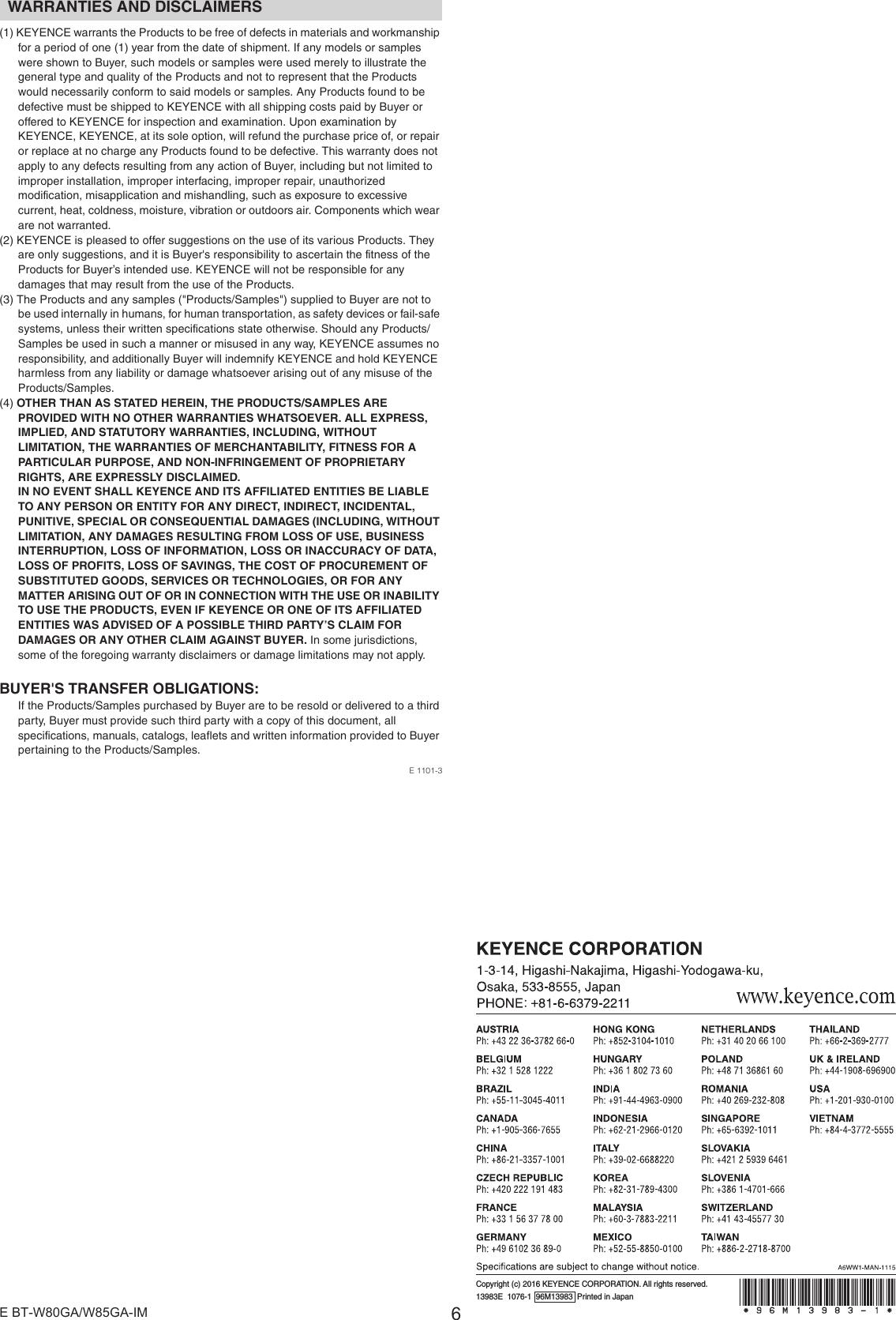 Keyence B Handheld Mobile Computer User Manual Users