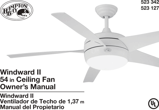 Hampton Bay Ceiling Fan Remote Manual Pdf