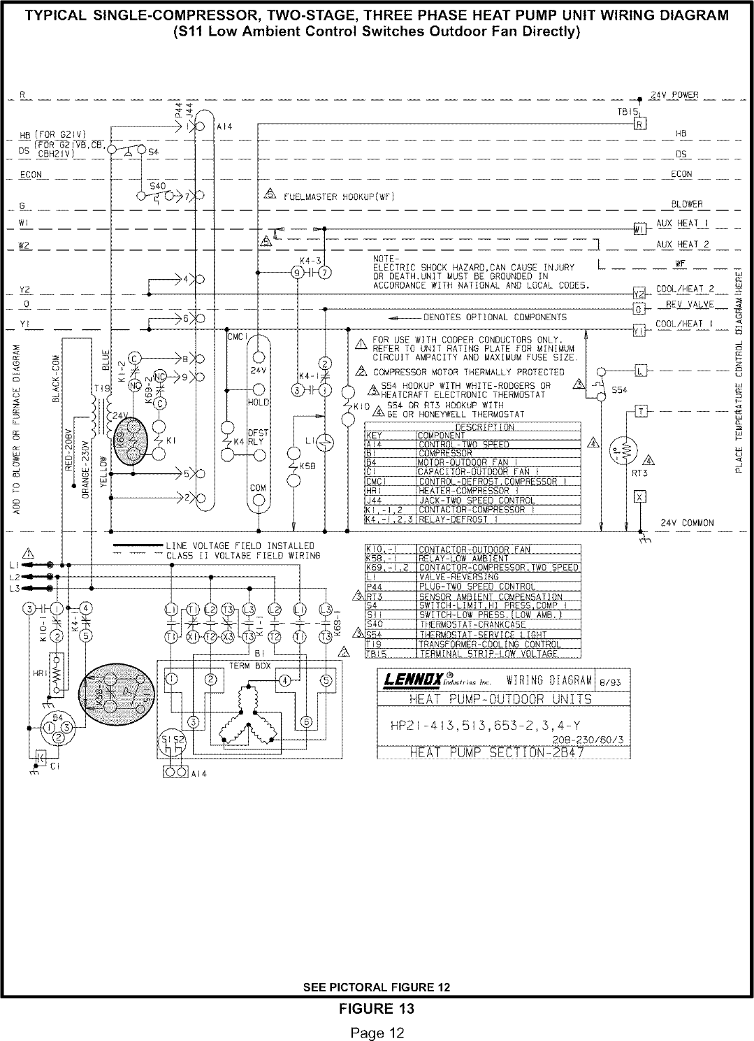 Page 12 of 12 lennox controls and hvac accessories manual l0806303