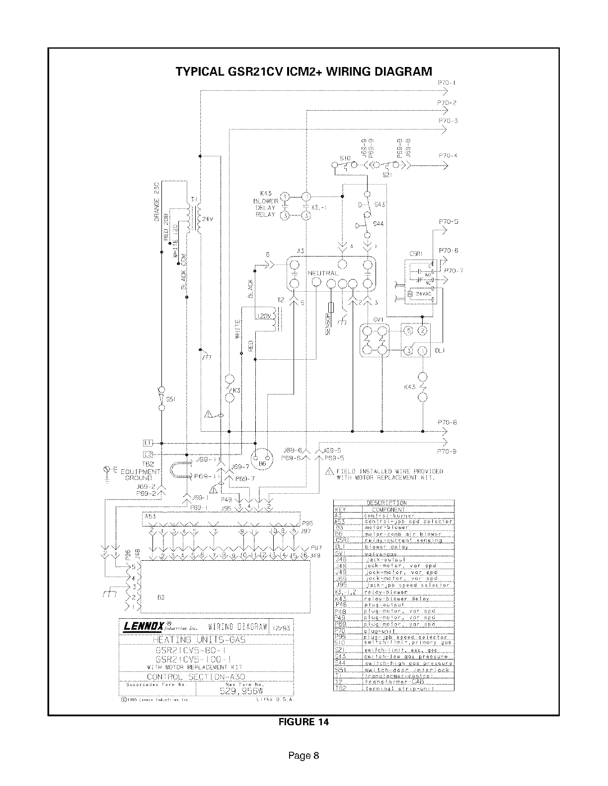 Lennox Furnace Heater Gas Manual L08a