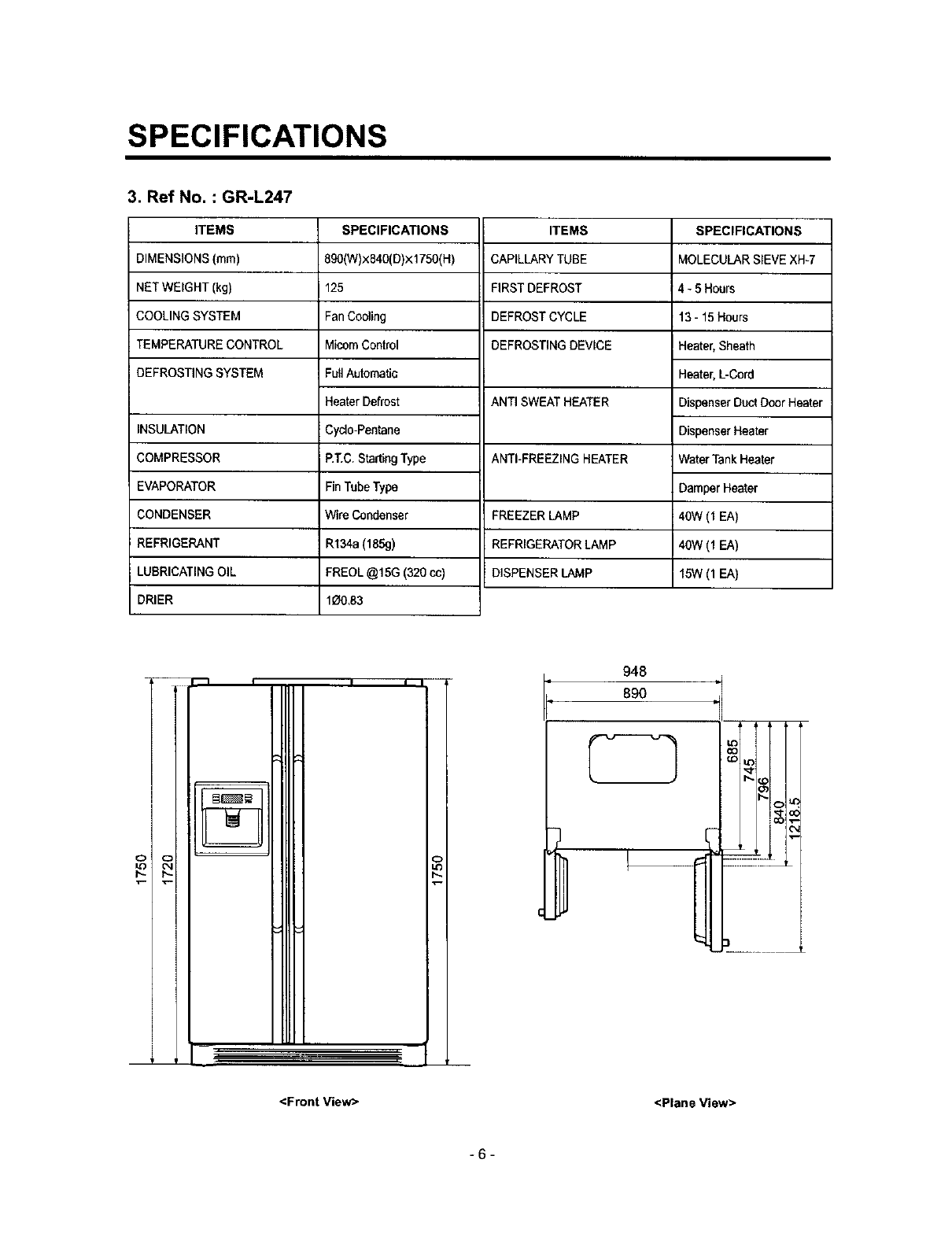 Lg Lrspc T User Manual Refrigerator Manuals And Guides