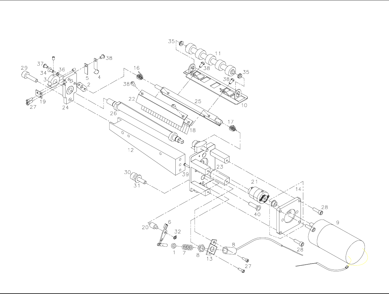 90 assembly drawings users manual model 656 636