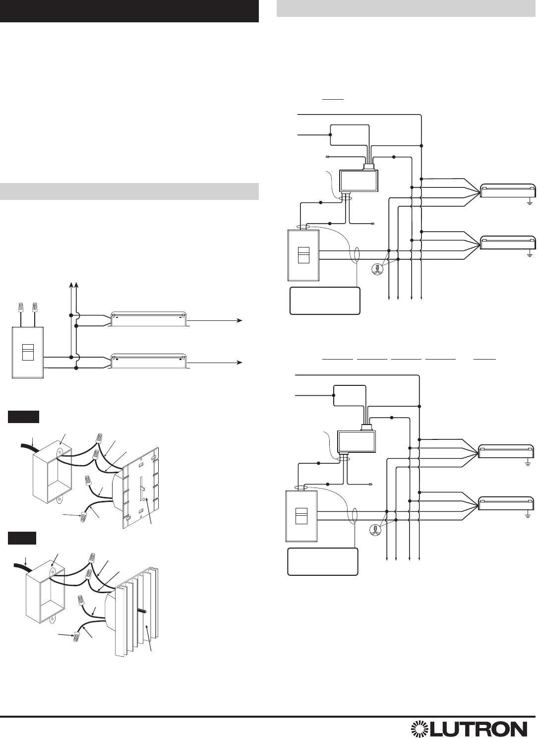 Lutron Ballast Wiring Diagram