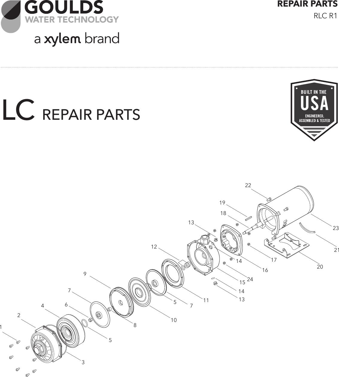 Goulds Pump Parts   Wiring Diagram Database