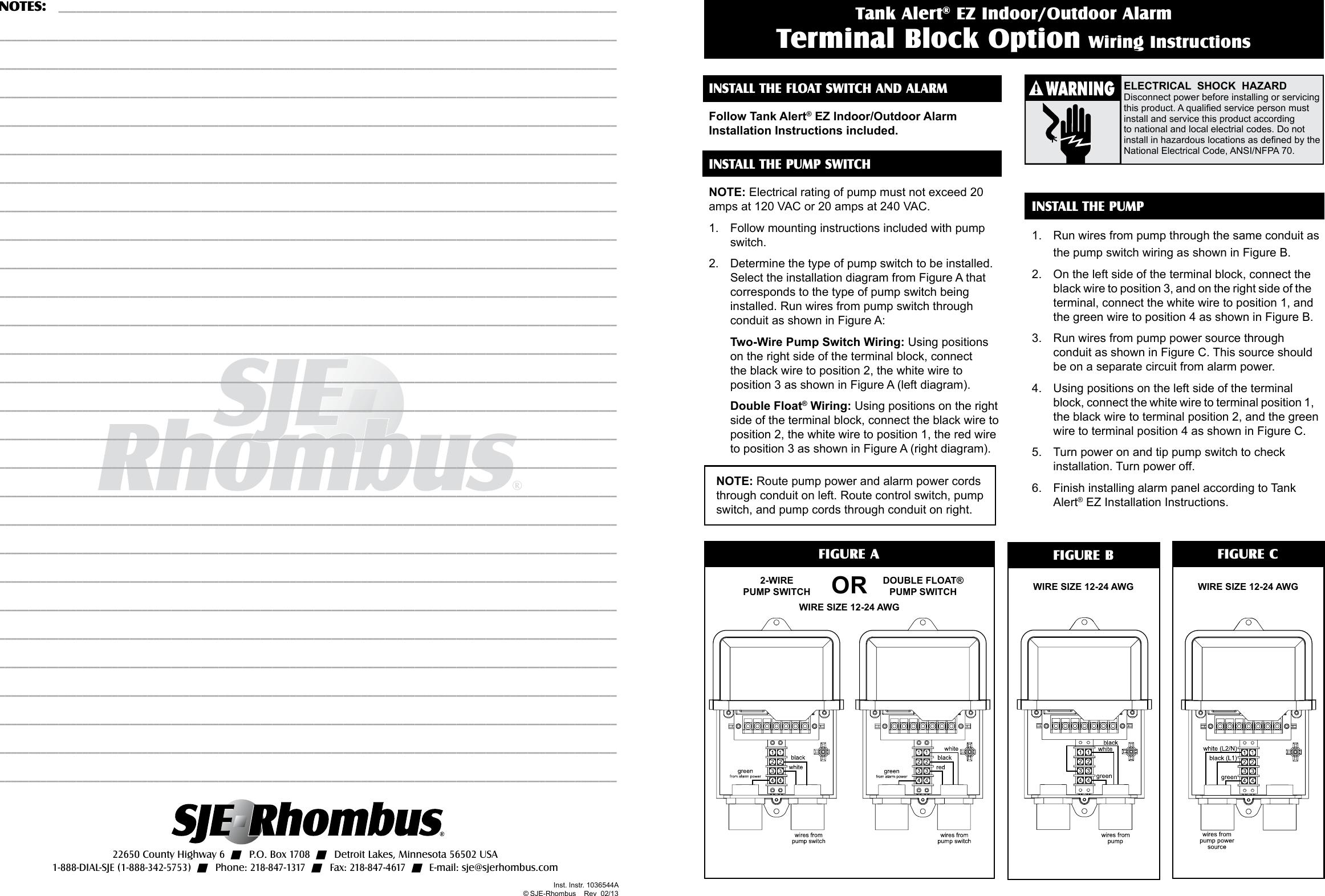 contact block wiring