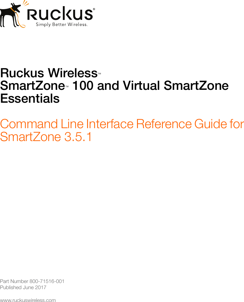 Ruckus Sz 100 And Vsz E Command Line Interface Reference