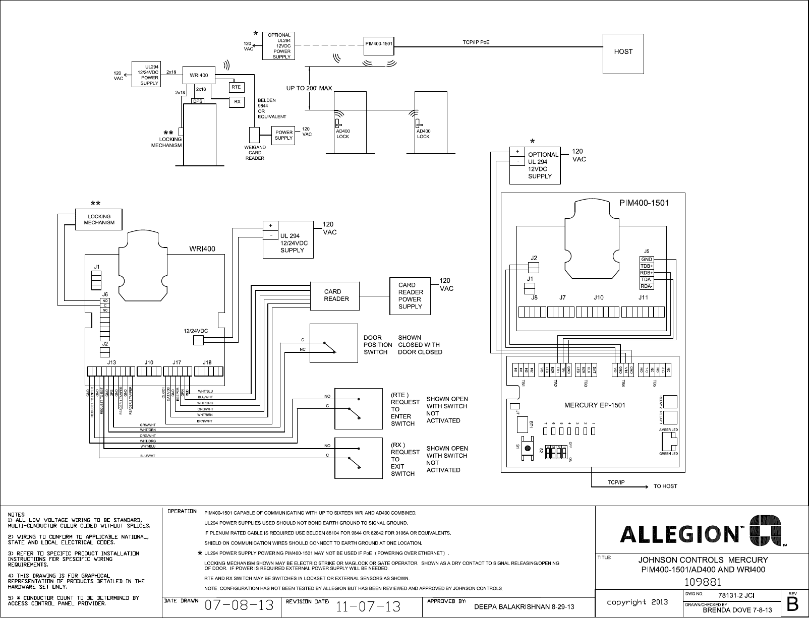 Schlage Electronics C Ad Ad400 Wiring Diagram Johnson