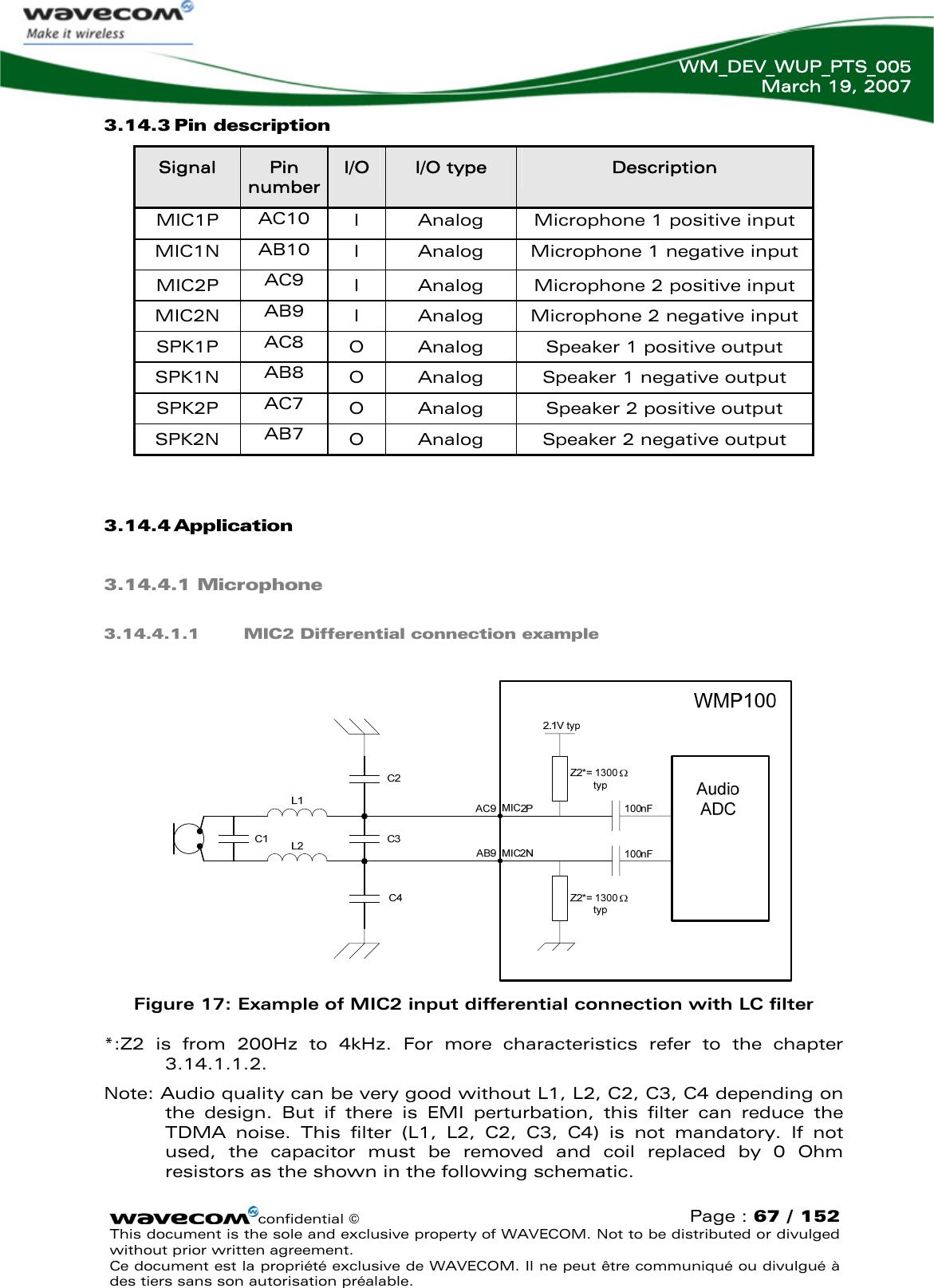 Sierra Wireless Wmp100 Quadband Gsm Module User Manual Wireless Microprocessor Wmp100 Oass1 0