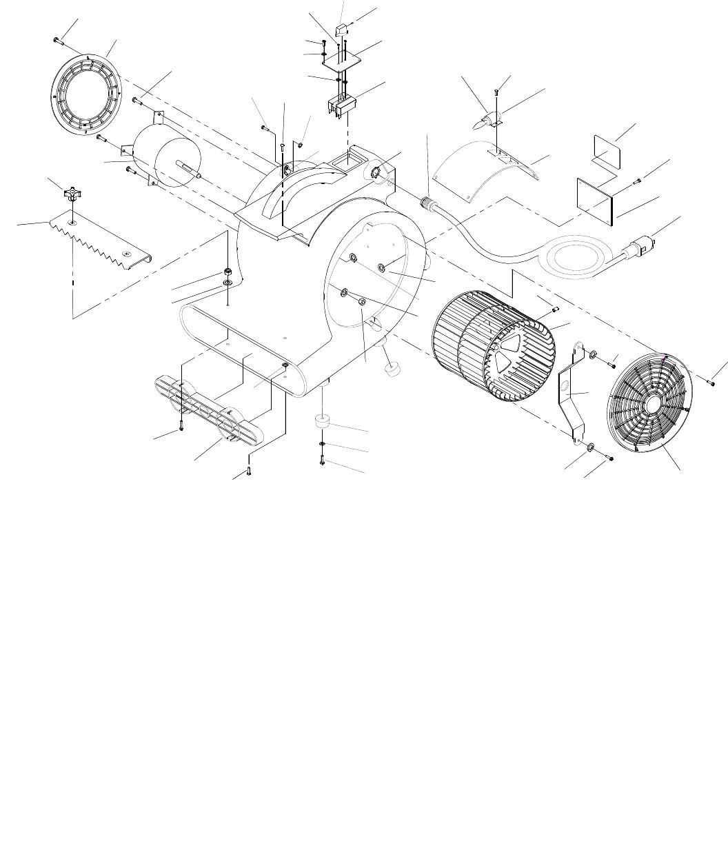Cvr Windsor Air Mover 3 120v Service Parts Manual