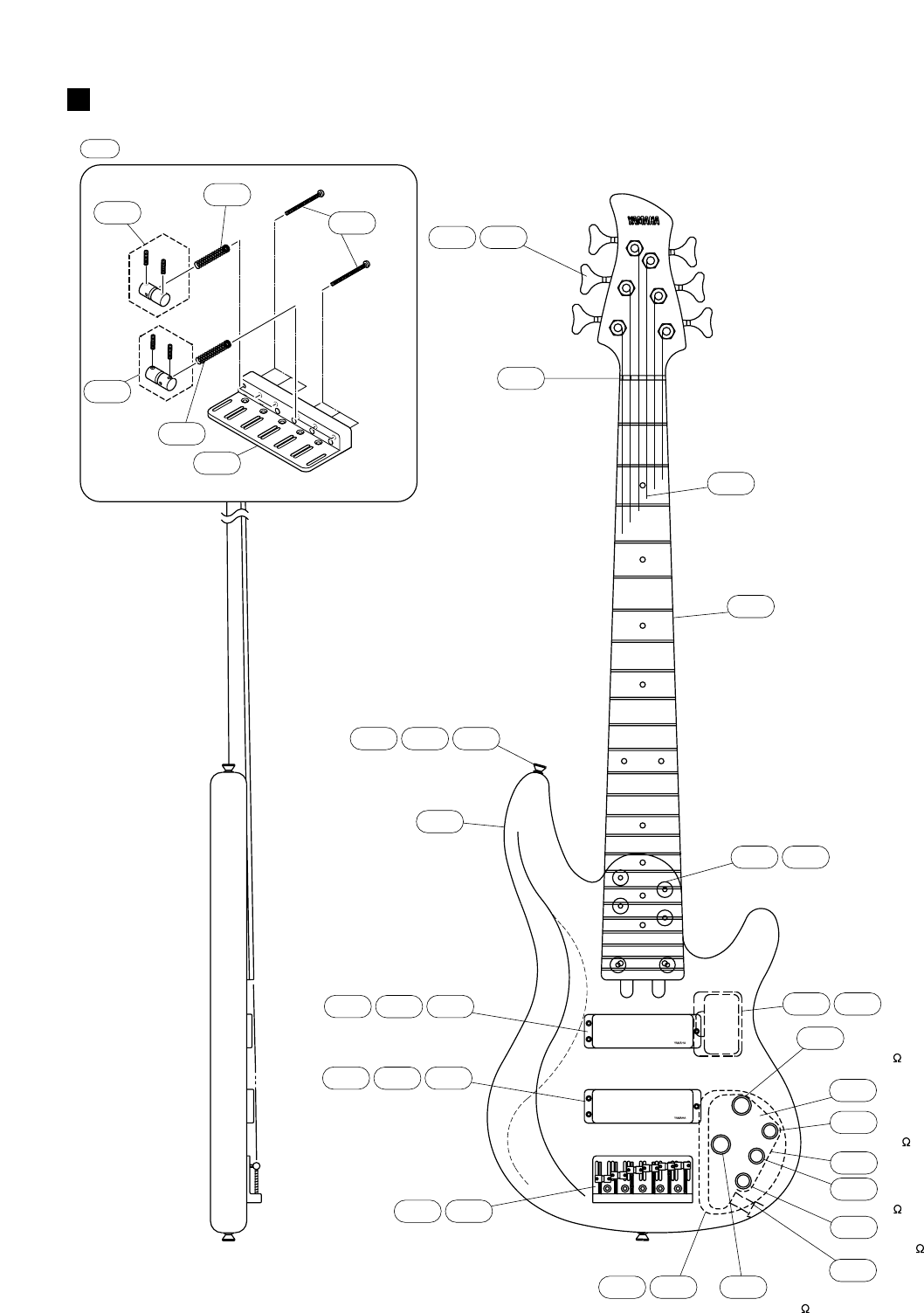 Yamaha Guitar Users Manual Trb 6ii