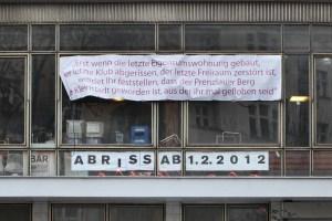 Der Klub der Republik musste 2012 schließen. Prenzlauer Berg ist mehr von Schließungen und Abwanderungen von Clubs betroffen als irgendein anderer Bezirk in Berlin. (Foto: Ostprinzessin)