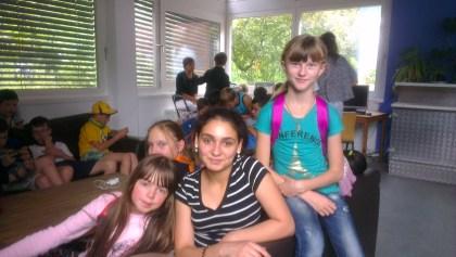 Kinder aus den Flüchtlingsfamilien © Anastasiia Parshykova