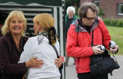 Yolande, Sylvia en Nico