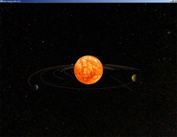 Solar System Sim v1.0