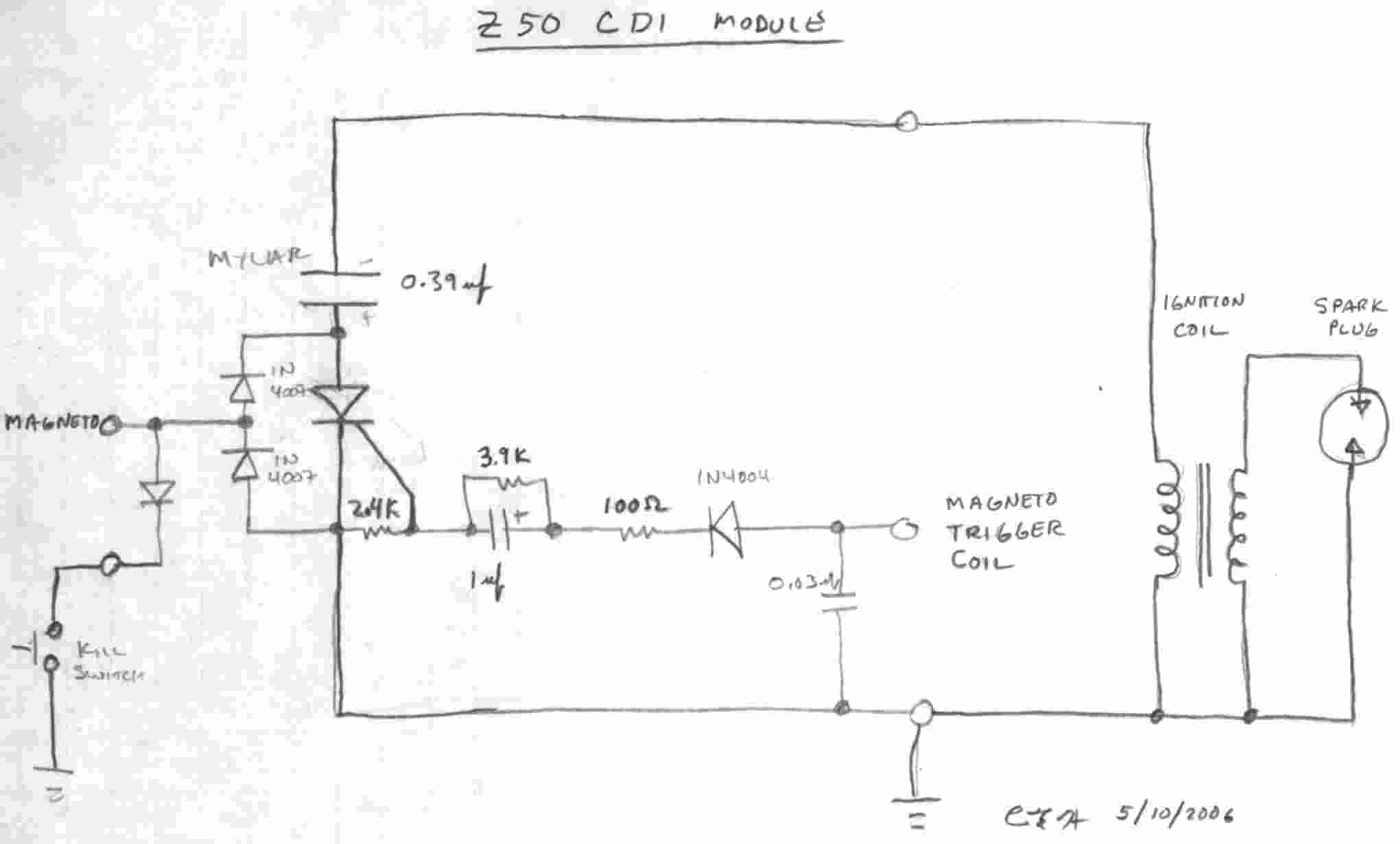 1973 Honda Z50 Wiring Diagram Electrical Diagrams Mr50 24 Images A Rectifier