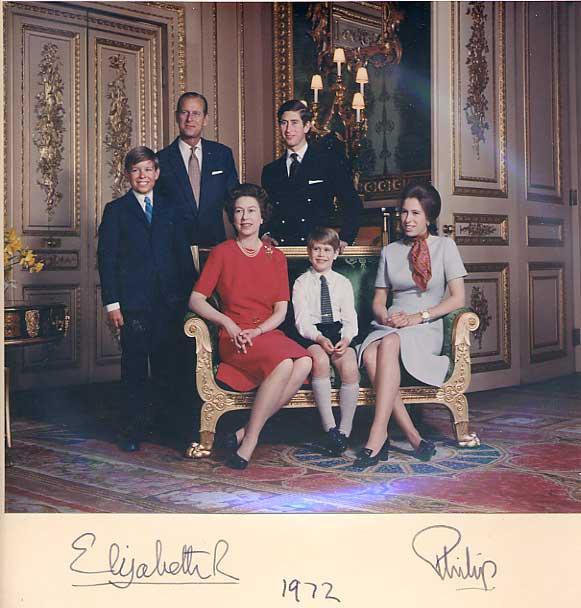 HRH Autograhs Autographed Letters Amp Signatures