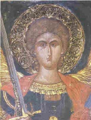 Αποτέλεσμα εικόνας για μονη βαρλααμ τοιχογραφιες καθολικου