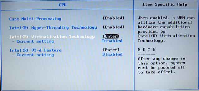 This kernel requires an x86-64 CPU, but only detected an