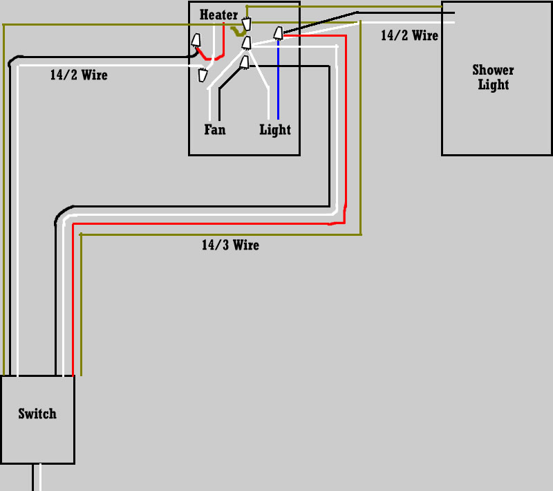 bathroom exhaust fan light wiring diagram rukinet com wiring diagrams for a ceiling fan and light kit do it yourself
