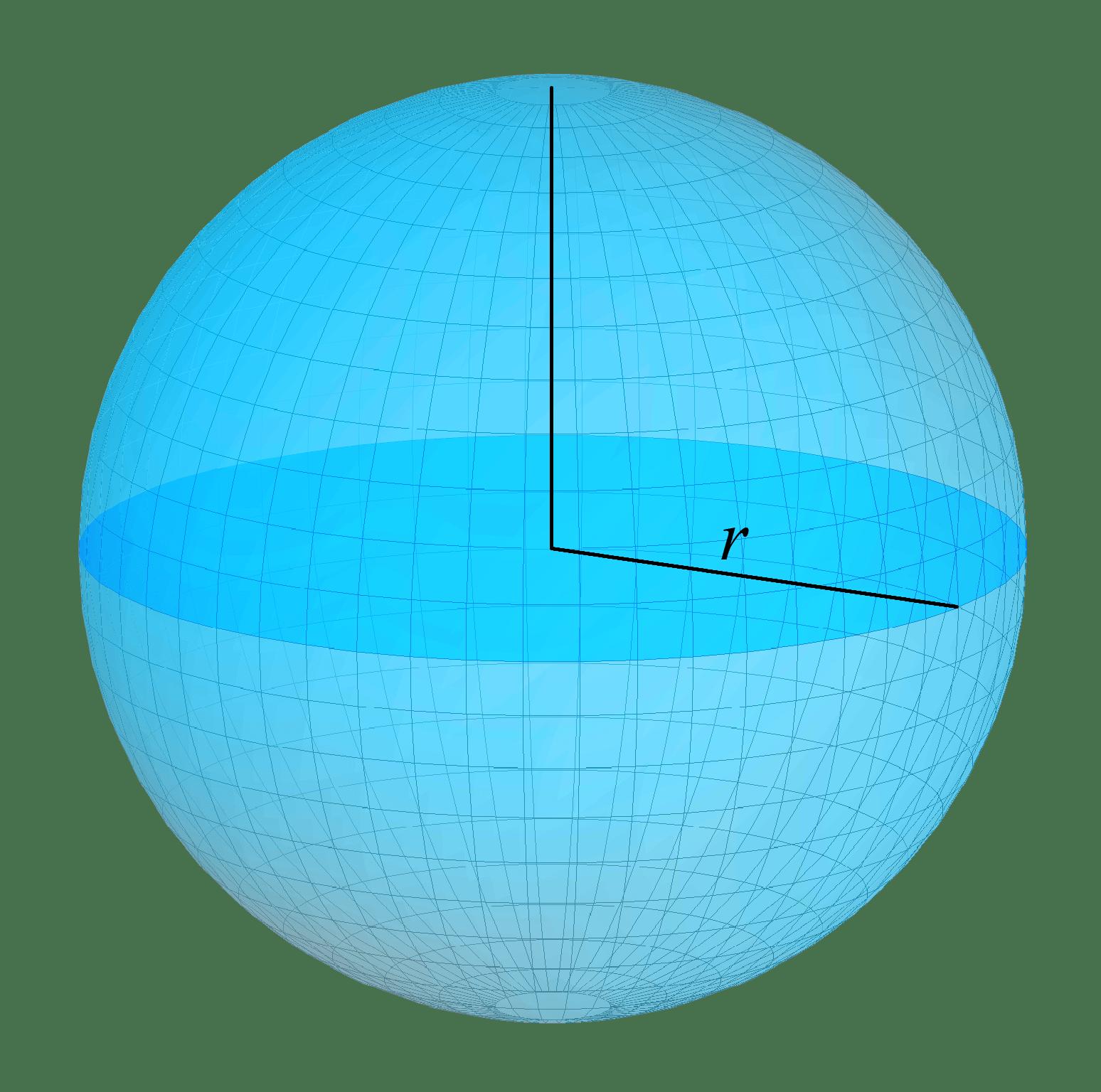 Area Of Sphere Volume Of Sphere