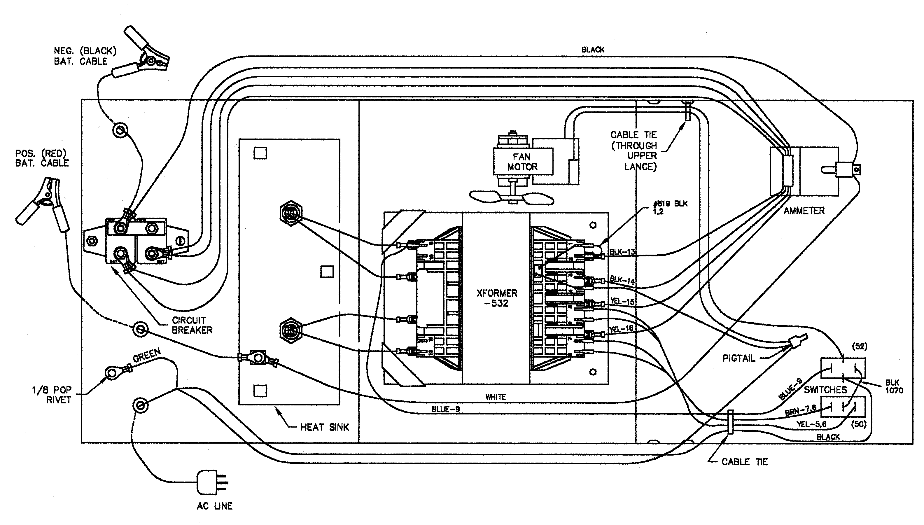 Meyers Wiring Harness Diagram