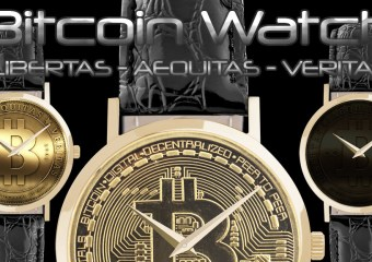 Bitcoin meets Swiss Watches - Bitcoin Watches - The latest trend in Crypto Fashion