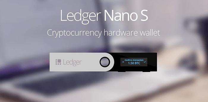 NANOS - Last Day of Black Friday Sale For Ledger Nano S - 21% Discount
