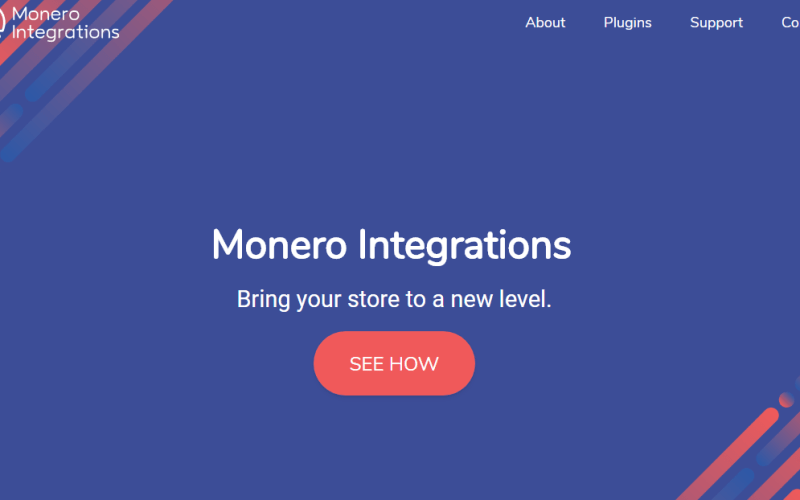 Monero integ - The Monero Integration Project: Making Online Payments With Monero Easier and Faster