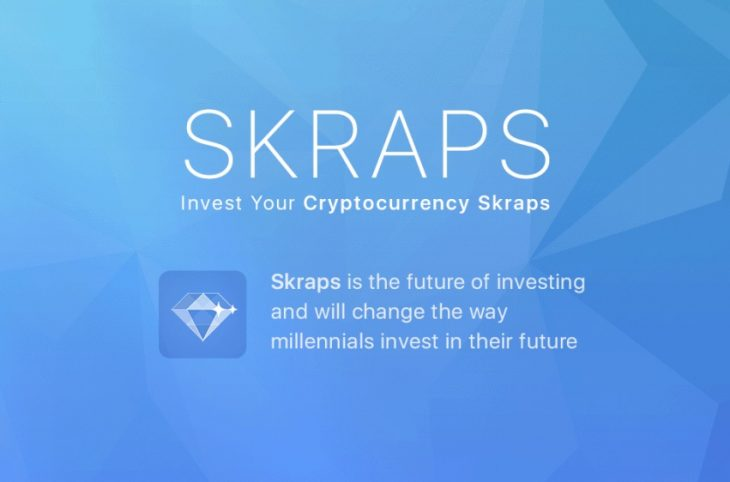 skraps - Skraps  - Invest Your Spare Crypto And Fiat Change