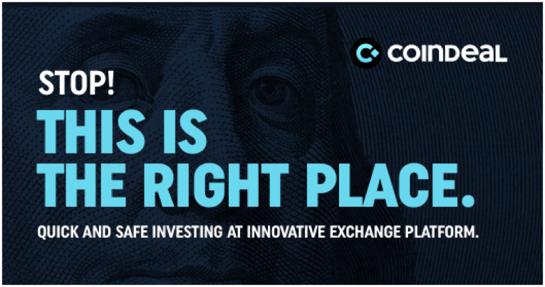 Imagen 1 - CoinDeal Review - A Crypto Exchange Platform with 16 Tradable Coins