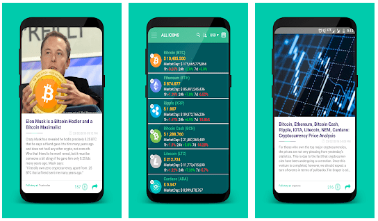 cryptocrunch - Top 10 Cryptocurrency Mobile News Apps For 2018