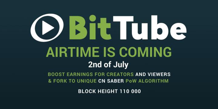 bittube 1024x512 - Important Hard Forks to Happen in July 2018