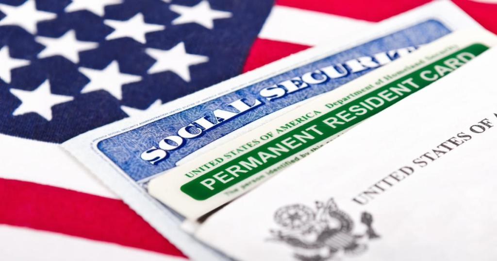 ss and permanent resident cards