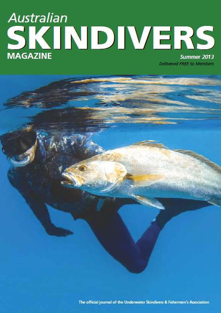 Australian Skindivers Magazine - Summer 2013