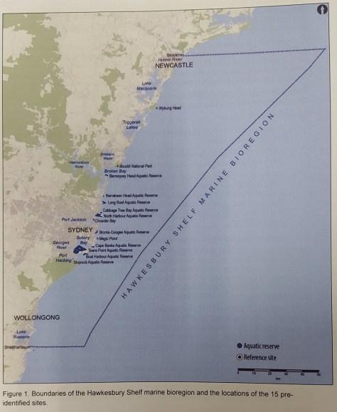 Hawkesbury Shelf marine bioregion