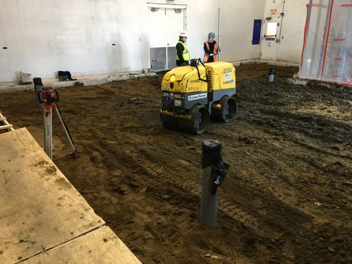 Concrete Base Compacting