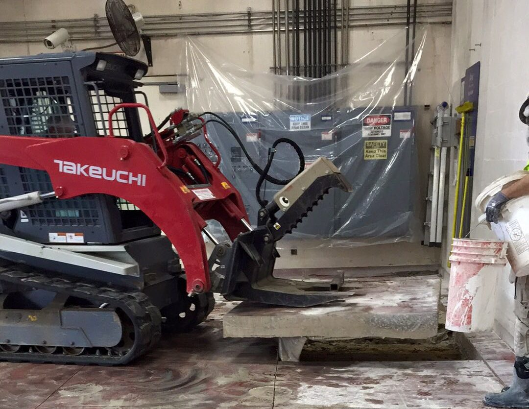 Concrete Saw Cutting and Removal