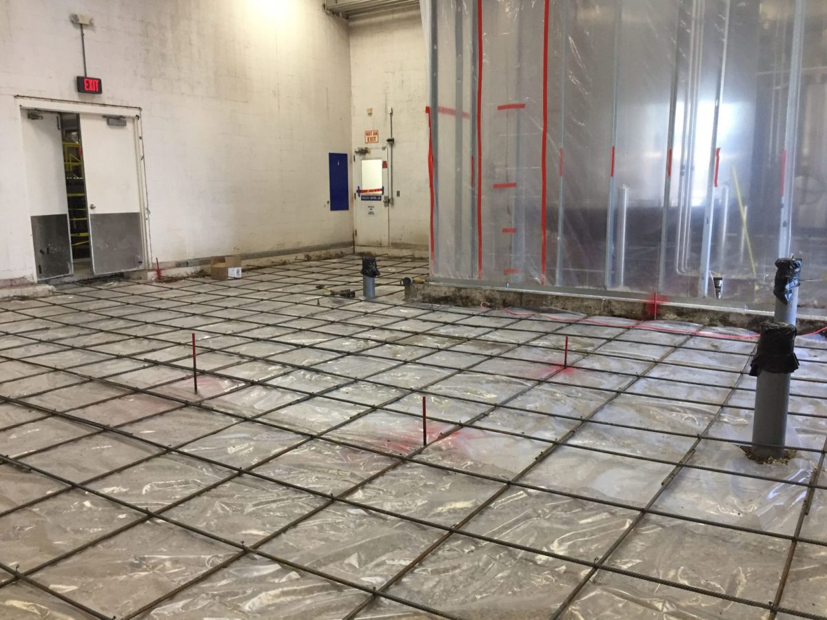 Concrete Cross-Web Rebar Grid
