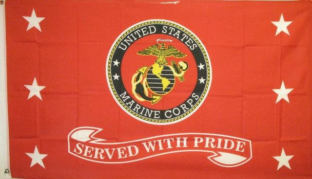 MilitaryFlagMarineServedWPride