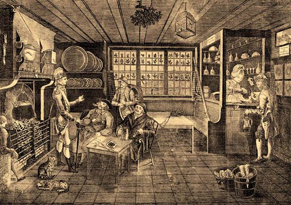 18th century tavern