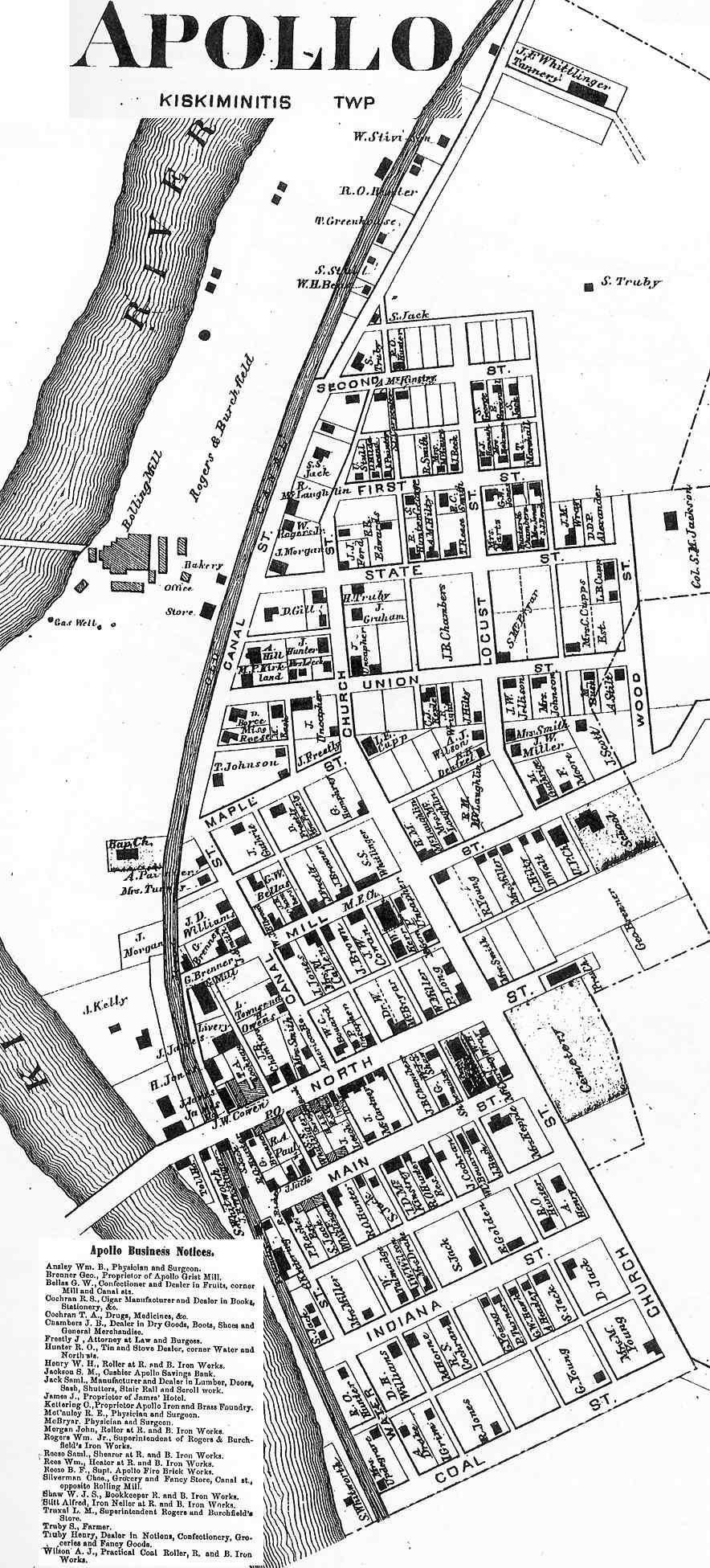 Sugar Creek Township Pa Map