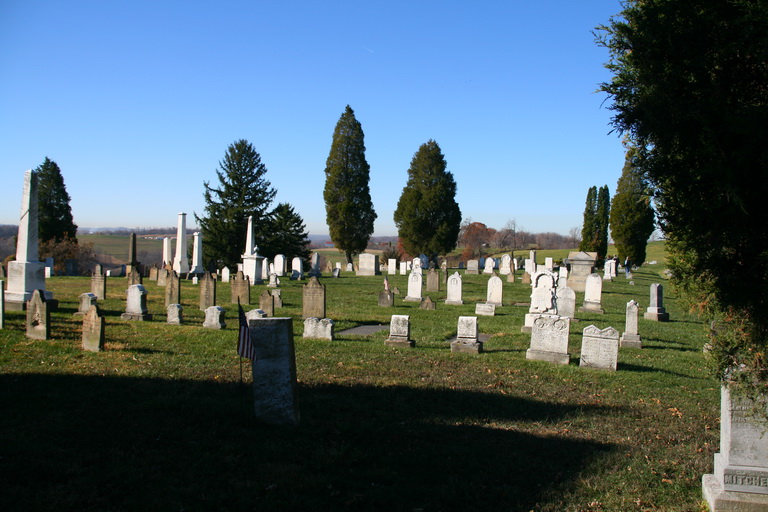 Old Pennsylvania Cemetery Section