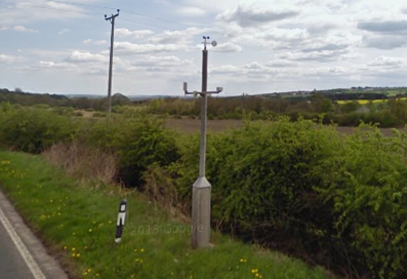 Road weather station camera B6302 Ushaw Moor (2/2)