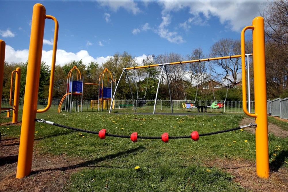 Broompark Play area Officialy Opened (From Durham Times)