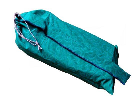 Buidel voor meditatiebankje, groen