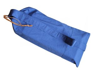 Buidel voor meditatiebankje - blauw