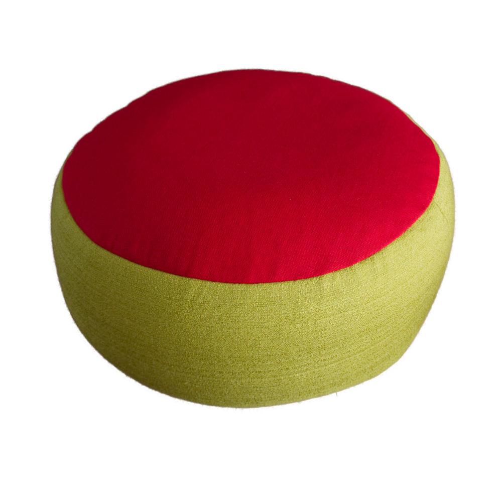 Rood met goud-groene zijkant